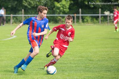 U15 contre Escource
